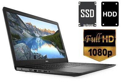 """LAPTOP DELL 3782 - 256GB SSD + 1TB HDD - 8GB RAM - CD/DVD - 17.3"""" FULL HD MATT"""
