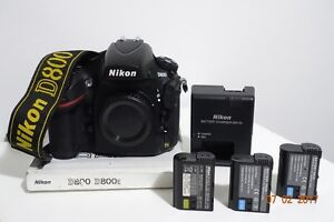 NIKON D800 body /perfect used condition Stanhope Gardens Blacktown Area Preview