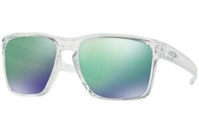 Oakley Sonnenbrille Silber XL Klar W / Jade Iridium Linse OO9341-02