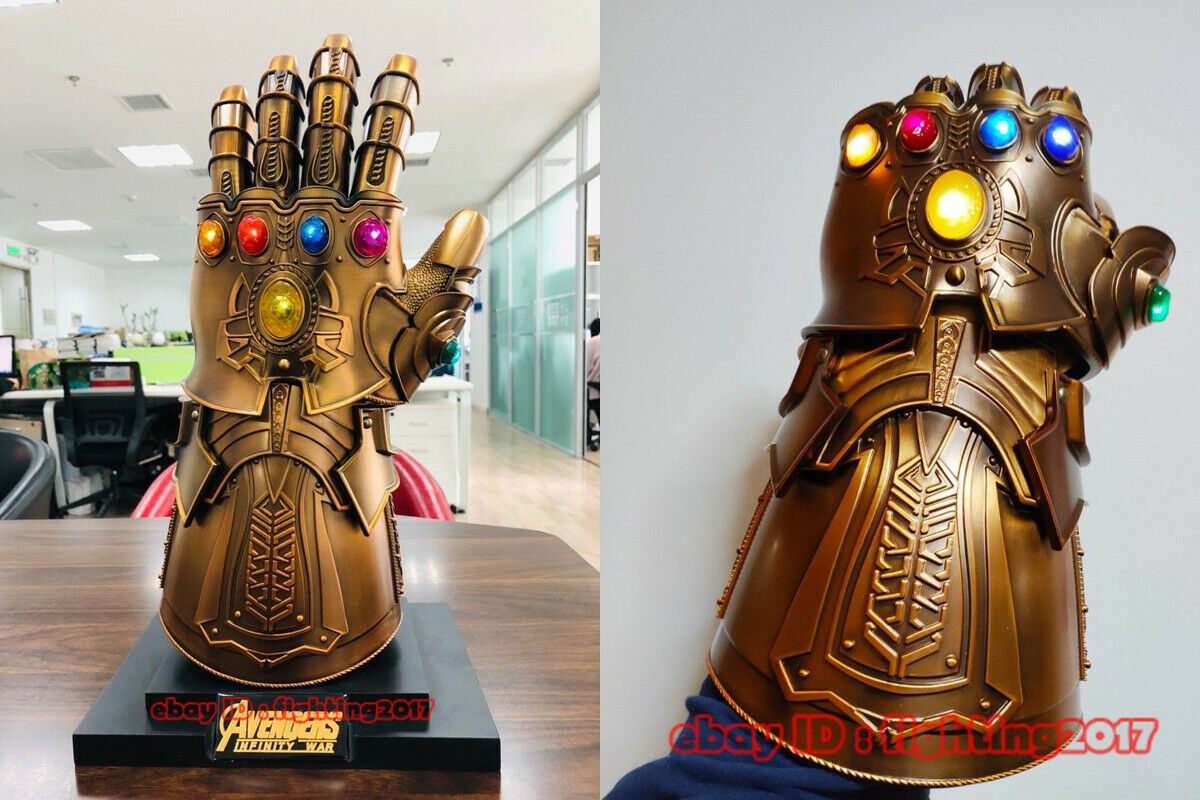 Full Metal 1:1 Wearable Thanos Infinity Gauntlet Cosplay Infinity stones Reserve
