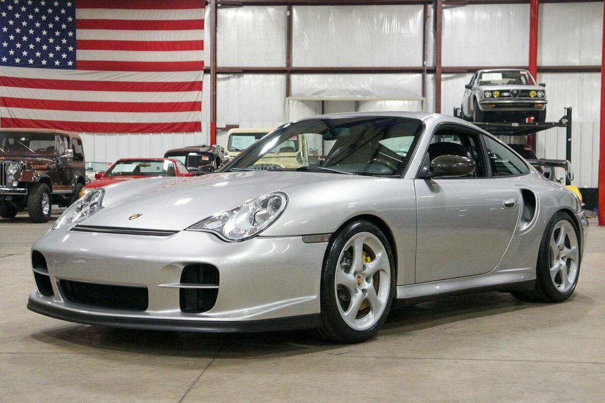 2002 Porsche 911 GT2 32376 Miles Arctic Silver Metallic Coupe 3.6L H6 Twin Turbo