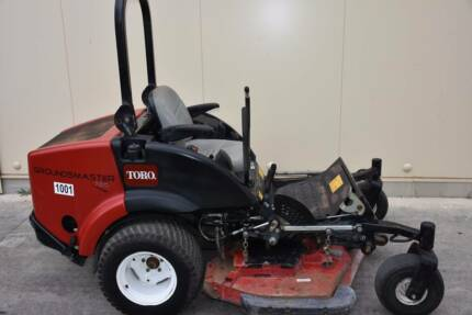 SECONDHAND TORO GROUNDSMASTER 7210