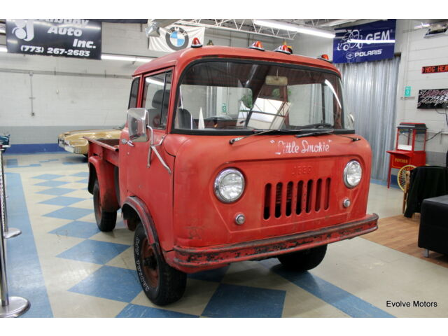 1960 jeep forward control willys fc150 32 465 original miles no reserve used jeep. Black Bedroom Furniture Sets. Home Design Ideas