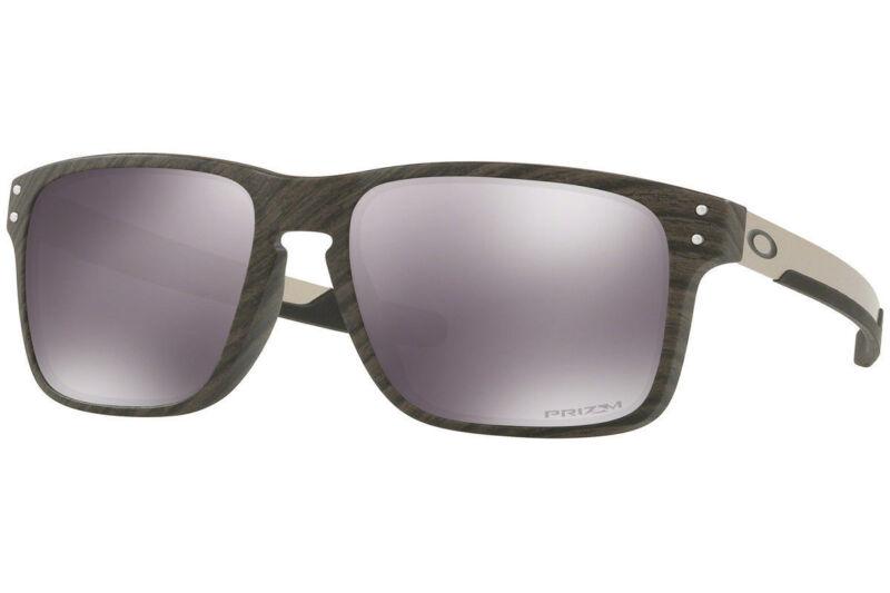 933cd90fbb Oakley Holbrook Mix Sunglasses OO9384-0457 Woodgrain Prizm Black Lens