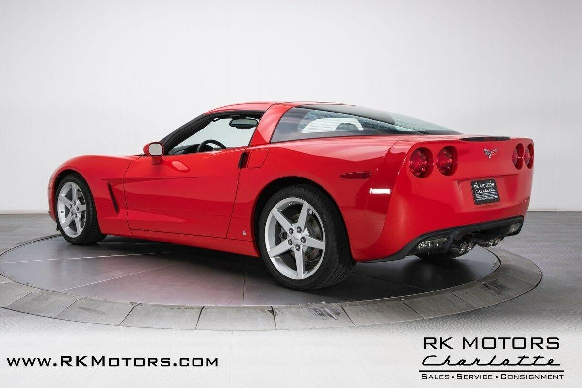 2007 Red Chevrolet Corvette     C6 Corvette Photo 8