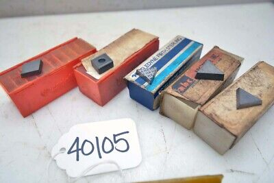 1 Lot Of Carbide Inserts Inv.40105