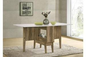 ~RRP $400~ NEW Extendable Dining Table Pre Built Pre Made Folding Pa St Kilda East Glen Eira Area Preview