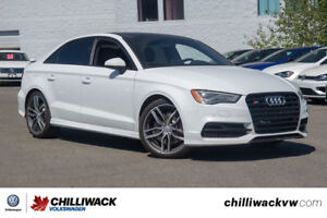 2016 Audi S3 - ALL WHEEL DRIVE, NAVIGATION, LEATHER