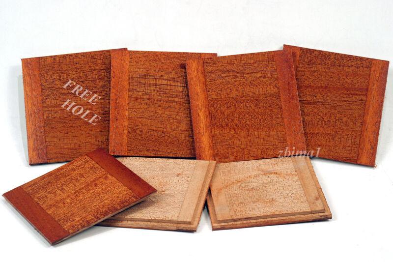 "1 Wooden Lens Board  4"" x 4"" for Deardorff  5"" x 7"" Solid Mahogany  #0,  or #1,"
