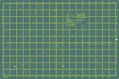 """Sew Easy Premium Quality Double Sided Cutting Mat 12"""" x 9"""" and 300 x 200mm"""