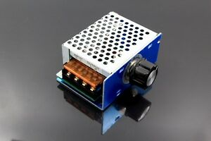 AC 220V 4000W SCR Motor Speed Controller Voltage Regulator Dimming Modulation AU