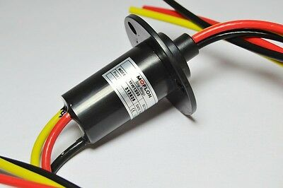1pcs Slip Ring 3 Wires 30a 250rpm For Wind Power Generator 380 Vdcvac