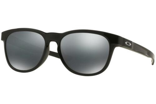 Oakley Stringer Sunglasses OO9315-03 Polished Black Frame W/ Black Iridium Lens