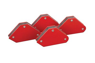 New 4pc Mini Magnetic Magnet Arrows 10lb Welder Welding Holder Soldering Free Us