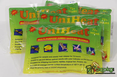 8 - UniHeat 72 Hour Shipping Warmers - Disposable Heat Packs - Fresh & 72 HR