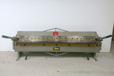 Enco 48 Bending Length Bench Press Brake 22 Ga In Mild Steel Box Pan Brake