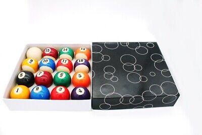 Billar Bolas Kugelset Inglés Pool-Design 50,8 MM Juego de Bolas Tamaño Especial