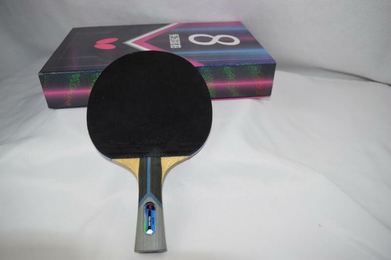 Butterfly 802 Professional Ping Pong Paddle Table Tennis Racquet