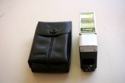 Canon Canolite D Speedlite Flash Used