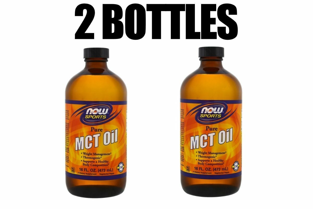 Now Foods, Sports, MCT Oil, Pure, 2 PACK, 16 fl oz  each