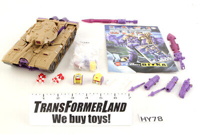 Ditka the Mighty Blitzwing 100% Complete E.A.V.I. Metal KFC 3rd Party