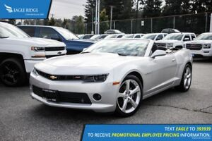 2015 Chevrolet Camaro LT Satellite Radio and Backup Camera