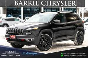 2018 Jeep Cherokee ***TRAILHAWK MODEL***NAVIGATION/GPS***POWER P