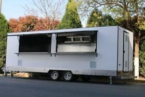 Mobile 7m vending food trailer kitchen truck cart caravan van scooter