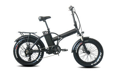 "20""x4.0"" Folding Fat Tire Electric Mountain Bicycle Beach Cruiser 48V 500W 10.4A"