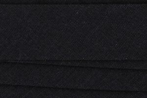 25m Schrägband Baumwolle 20mm gefalzt (0,40€/m) - Farbwahl -  Kantenband