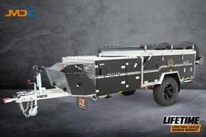MDC CRUIZER SLIDE FORWARD FOLD OFFROAD CAMPER TRAILER - From $95/week* Lansvale Liverpool Area Preview