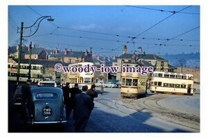 gw0400 - Sheffield Trams at Woodseats Corner in 1959 - photograph