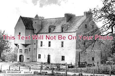 SC 1074 - Druminnor Castle, Rhynnie, Aberdeenshire, Scotland