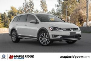 2018 Volkswagen Golf Alltrack - MANUAL, ALL-WHEEL DRIVE, LIKE NE