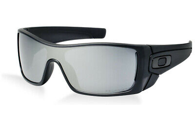 Oakley mens Batwolf OO9101-35 Iridium Polarized Sport Sunglasses,Matte Black Ink