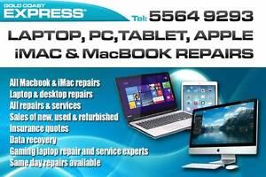 Express Laptop, PC, MacBook and iMac repairs Gold Coast, Brisbane Benowa Gold Coast City Preview