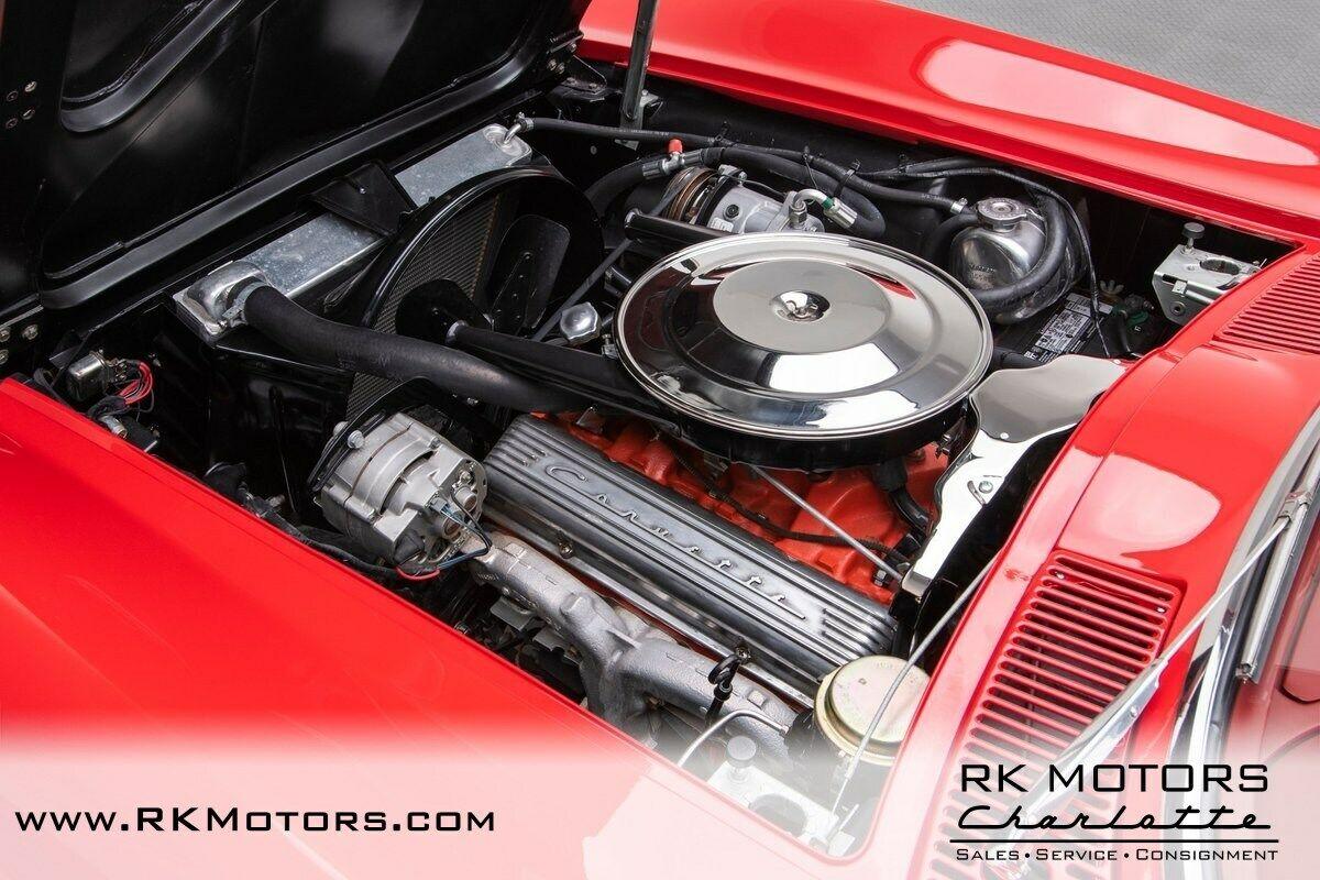 1965 Red Chevrolet Corvette   | C2 Corvette Photo 4