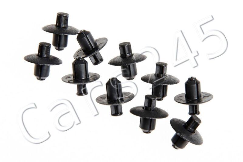 Genuine Toyota Cowl Grille Clip Push Type Retainer x10 9046707117