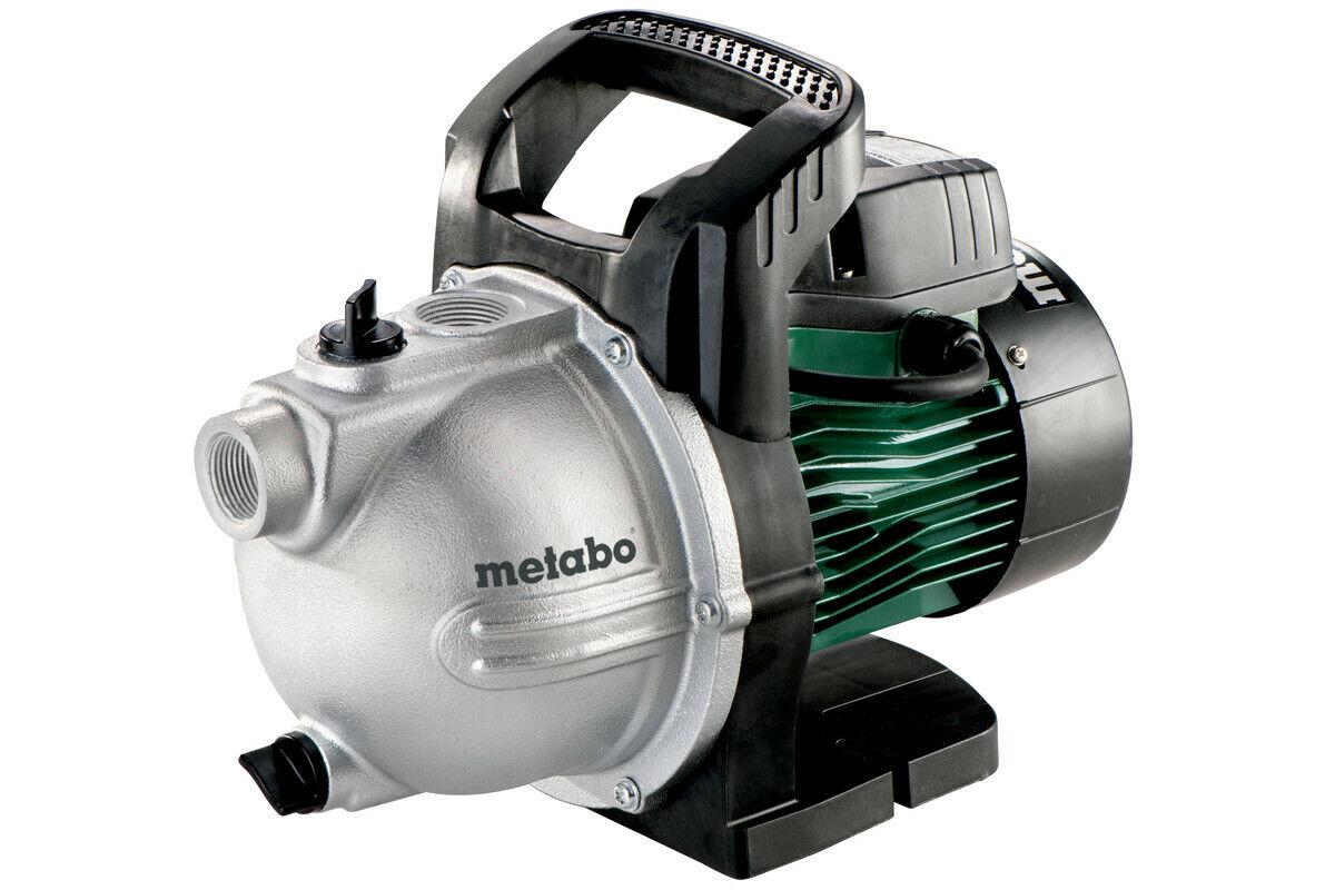 Metabo P 4000 G Gartenpumpe Grundwasserpumpe 1100W 4000l/h 1-3 Regner 600964000