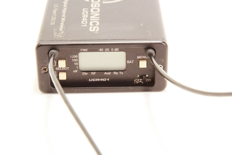 Lectrosonics UCR401 Block 20 (512.0-537.5Mhz) Receiver - Warranty!
