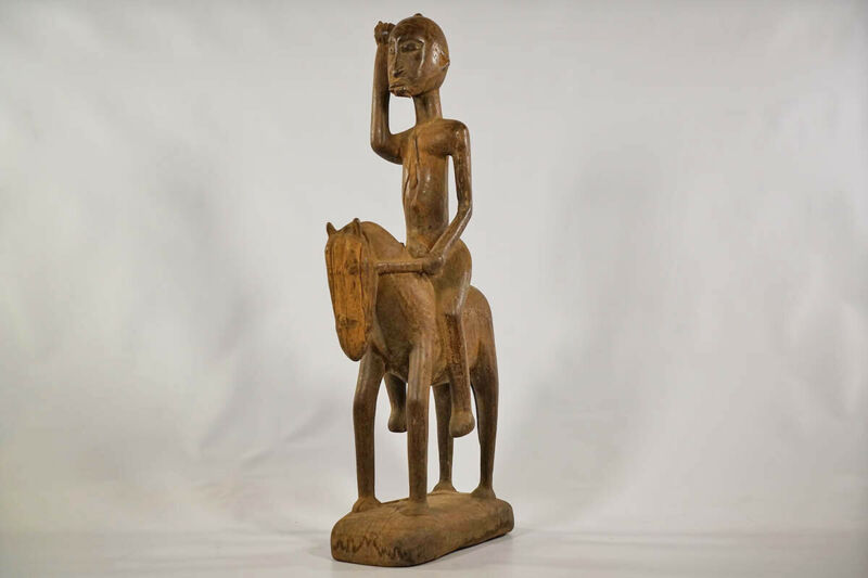 "Dogon Equestrian Figure 26"" - Mali - African Art"