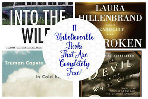 11 Unbelieveable Books That Are Completely True