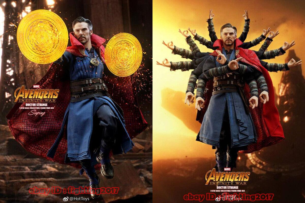 Infinity War DOCTOR STRANGE Figure 1//6 Scale HANDS #2 Hot Toys MMS484 Avengers