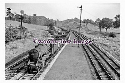 bb0883 - BR Railway Engine 48176 at Alfreton in 1961 - photograph