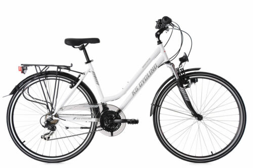 Trekkingrad Damen 28'' Montreal weiß 21 Gänge KS Cycling M512T