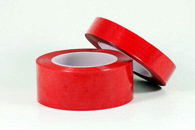 Red High Tack High Temp Anodizing Plating Powder Coating Polyester Tape 1 Inch
