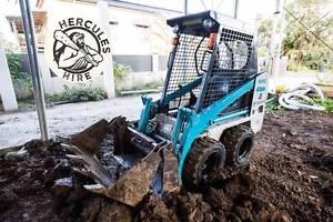 Hercules Hire - Toyota Huski SDK4 for hire, tight access bobcat
