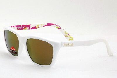 Bolle 527 Sunglasses White Camo Frame Rose Gold Lens 12052 - Authorized Dealer