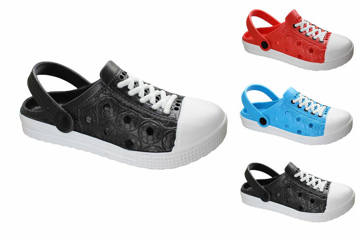 Damen EVA Clogs Hausschuhe Gartenclogs Badeschuhe Praxis-Pantoletten Sneaker NEU