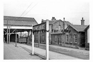 pt9831 - Doncaster , St James Bridge Railway Station , Yorkshire - photograph